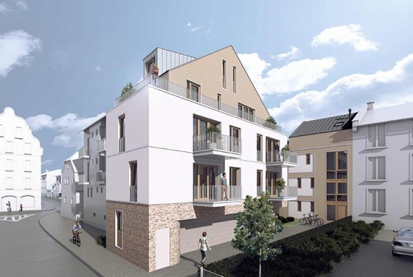 NEWS 314 Schwanheimer Str. Dachhaut schwarz Ausschnitt