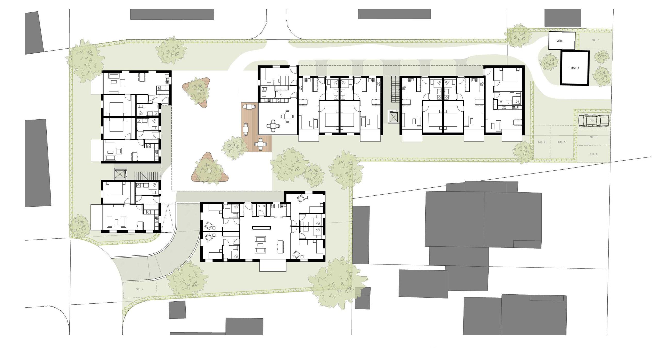 316_Mainstrasse_Grundriss Erdgeschoss_FFM-ARCHITEKTEN