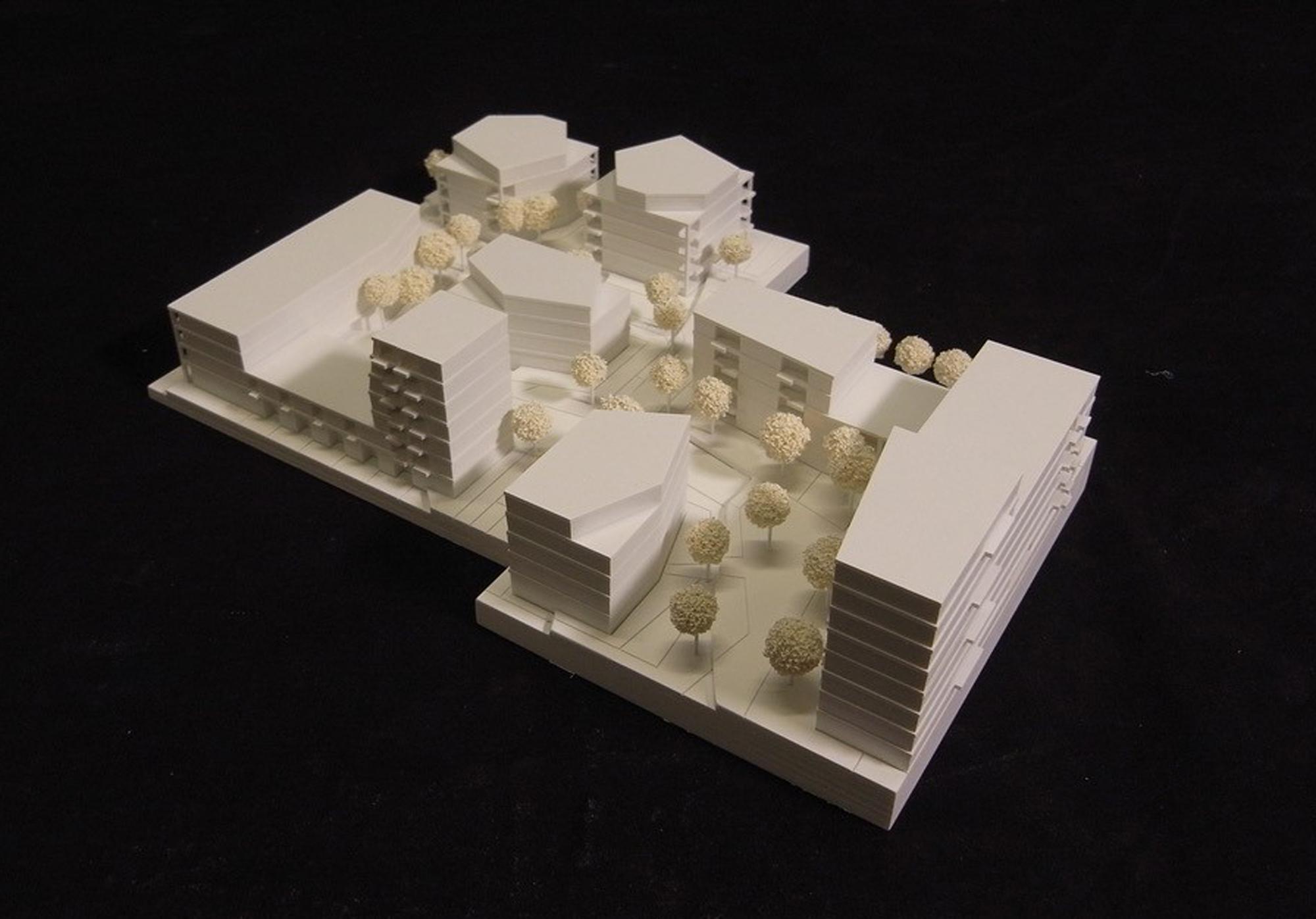 Projekt 355 Modell FFM-ARCHITEKTEN