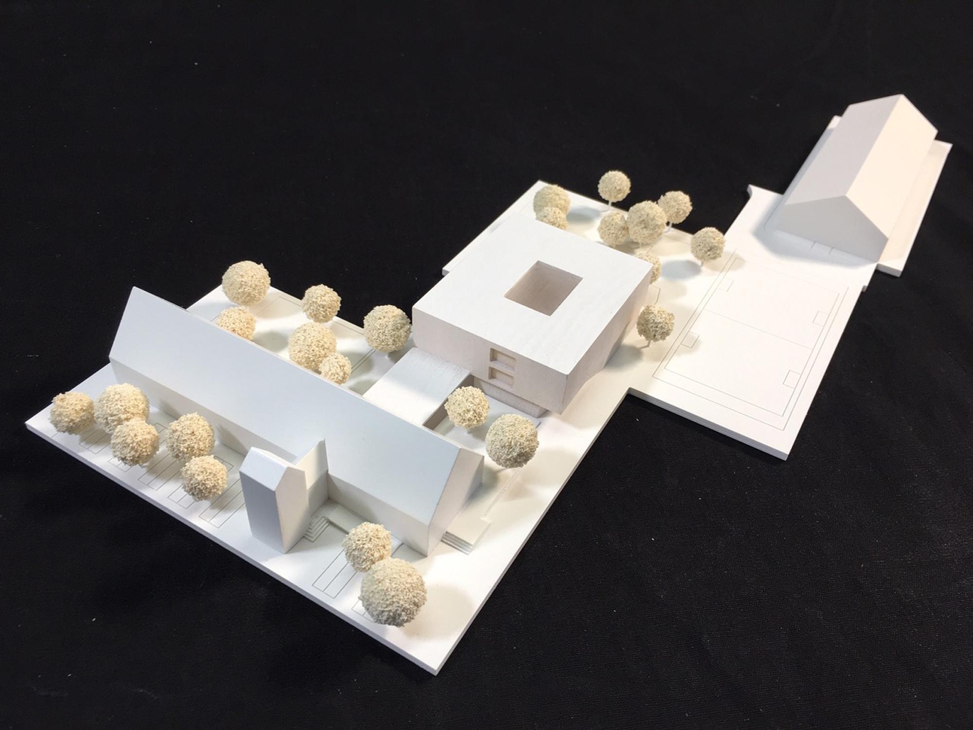 Projekt 368 Modellfoto FFM-ARCHITEKTEN