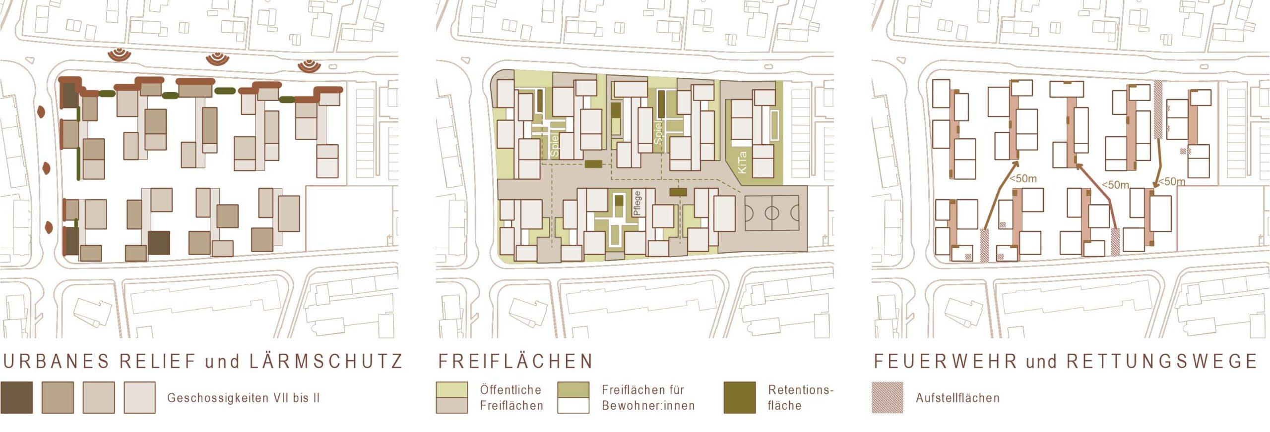 Pikto 371 Quartier am Rotweg Stuttgart Rot FFM-ARCHITEKTEN